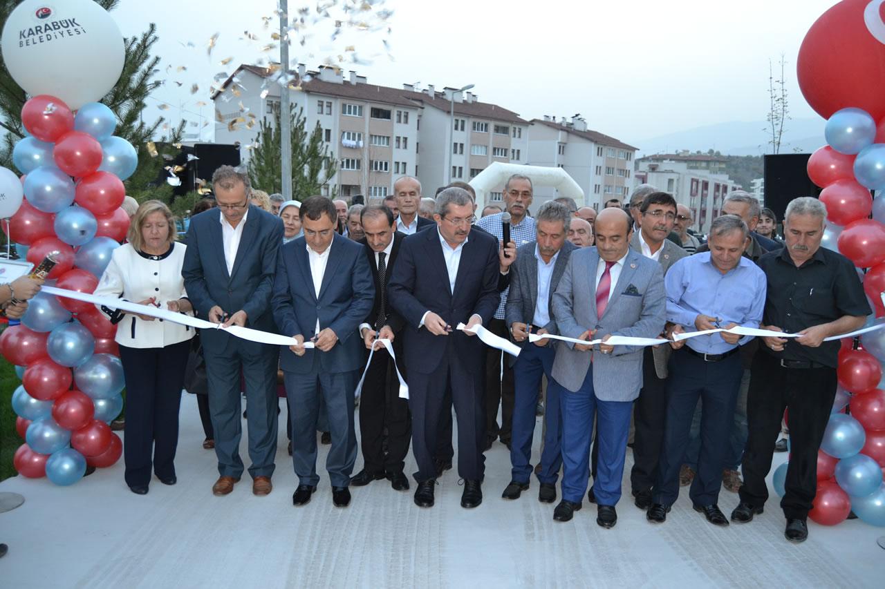 Üniversite Mahallesi Parkının Açılışı Yapıldı