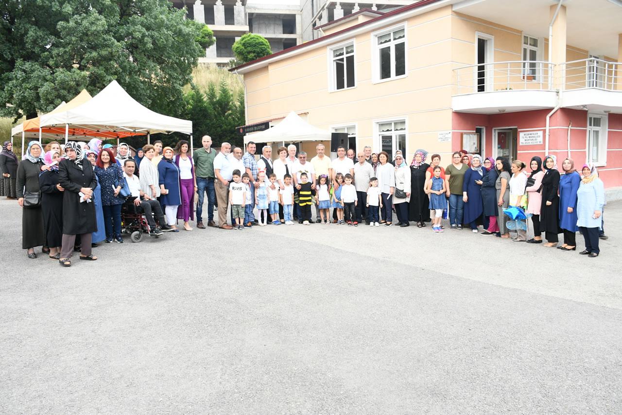 5000 Evler 75. Yıl ve Bahçelievler Mahallesi SYM Kursiyerlerine Sertifikaları Verildi