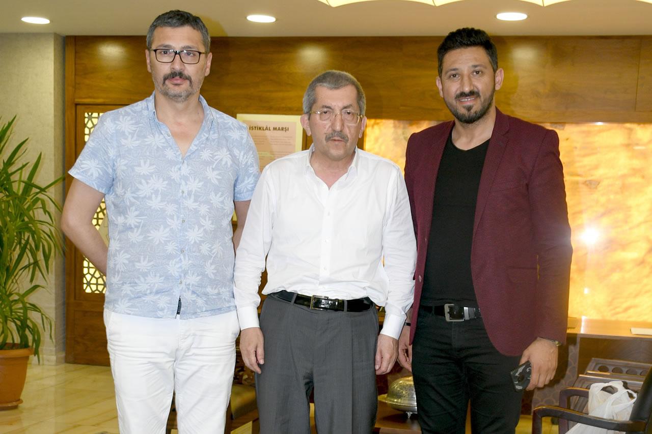 İstanbul Kastamonu Sanat Kurulundan Başkan Vergili'ye Ziyaret