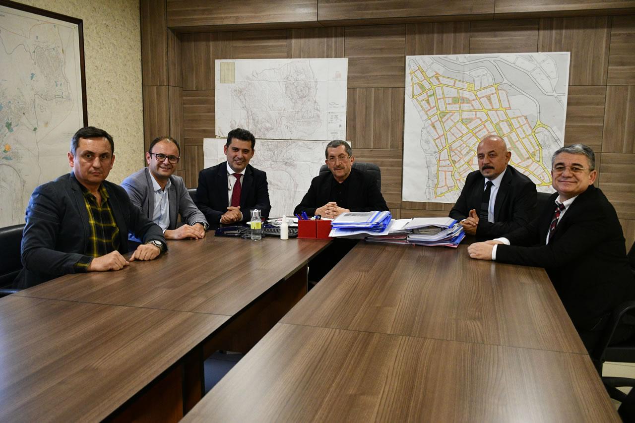 KİGMED'den Başkan Vergili'ye Ziyaret
