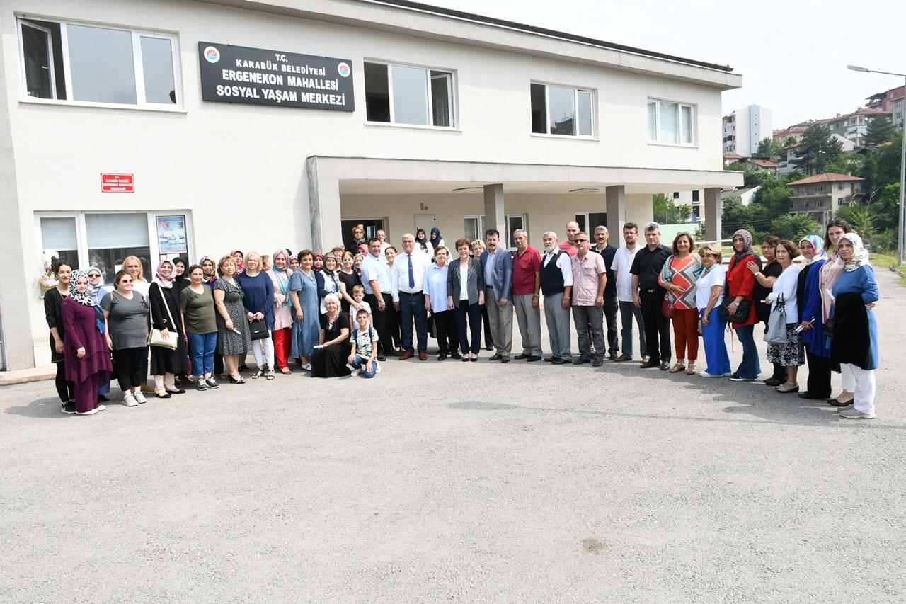Ergenekon Mahallesi SYM Kursiyerlerine Sertifikaları Verildi