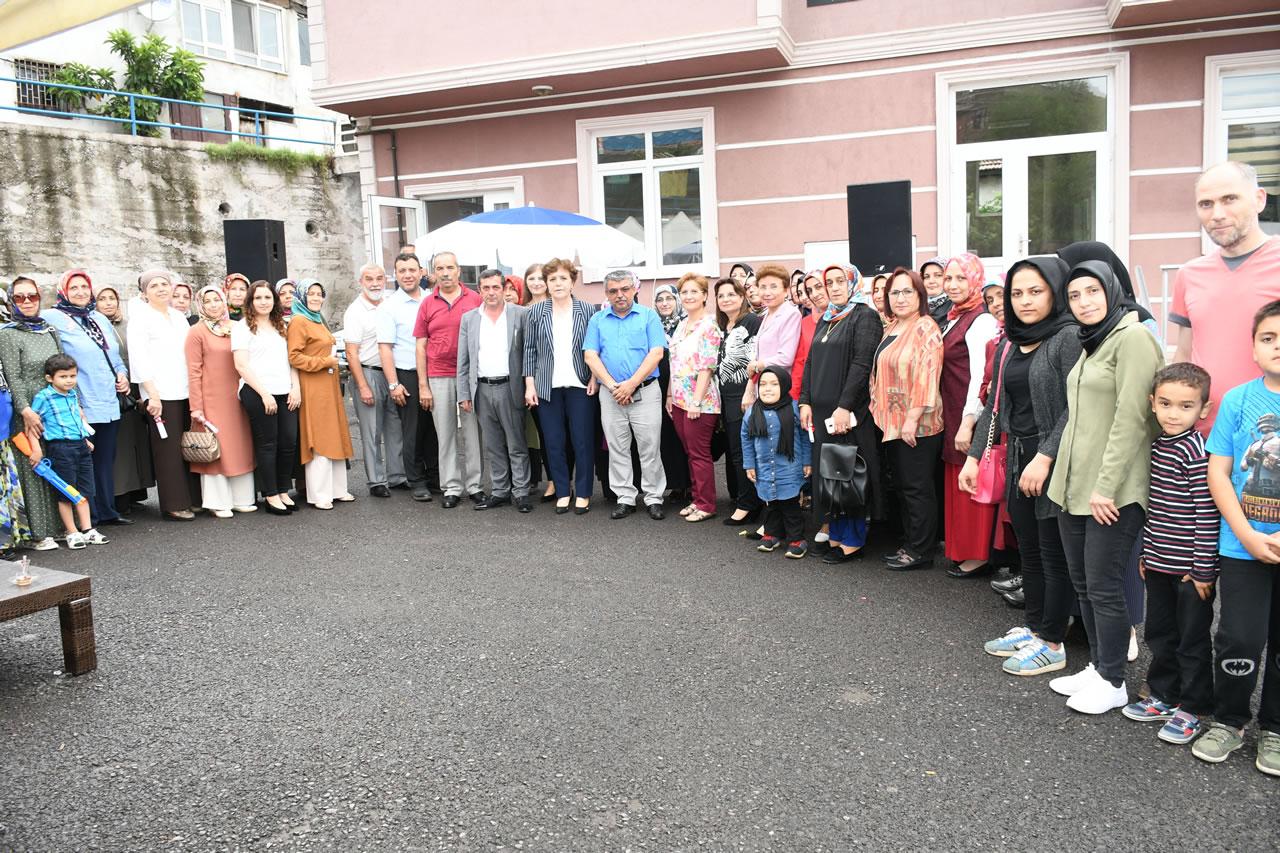 Fevzi Çakmak Mahallesi SYM Kursiyerlerine Sertifikaları Verildi