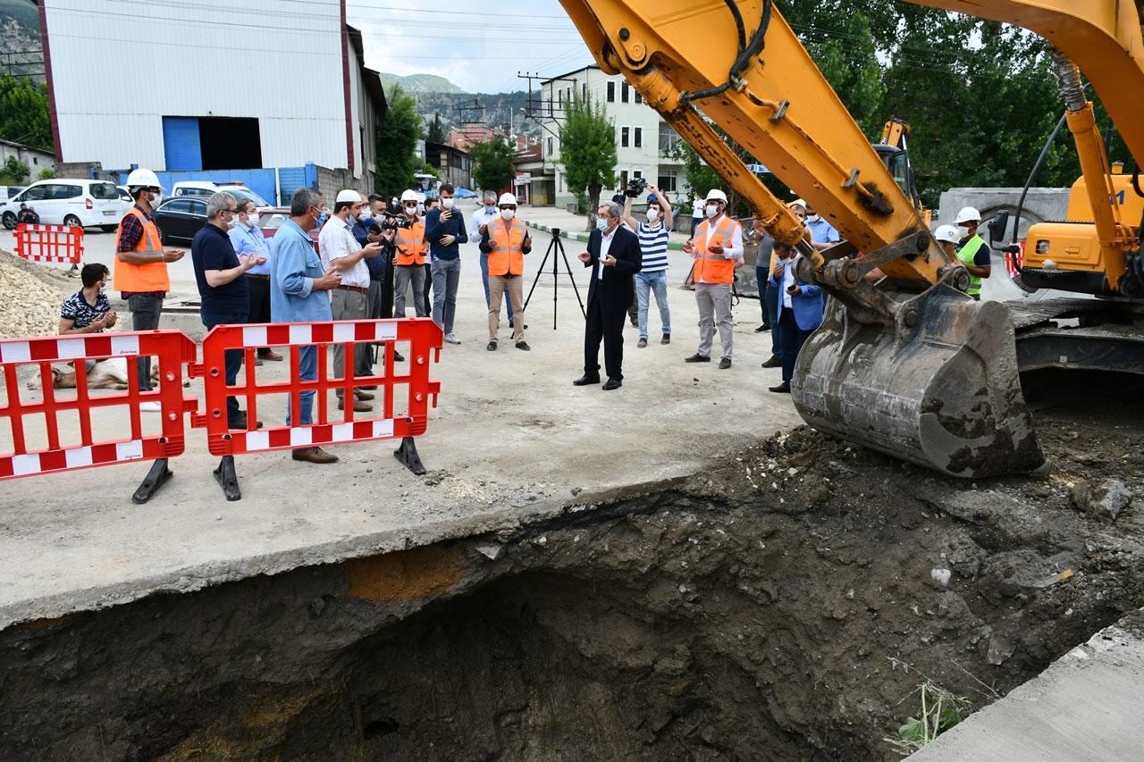 Karabük'ün Yağmur Suyu Drenaj Problemi Sona Eriyor