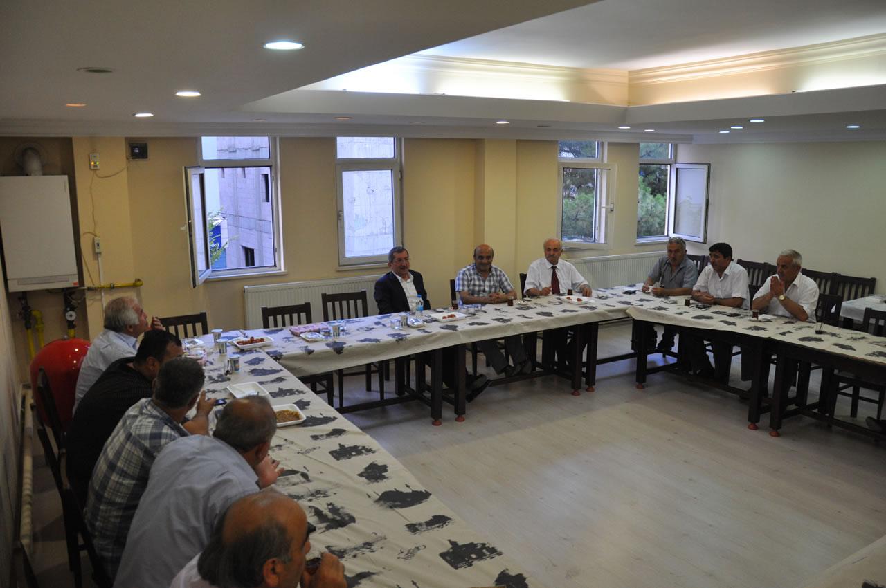 Temmuz Ayı Muhtarlar Toplantısı Yapıldı
