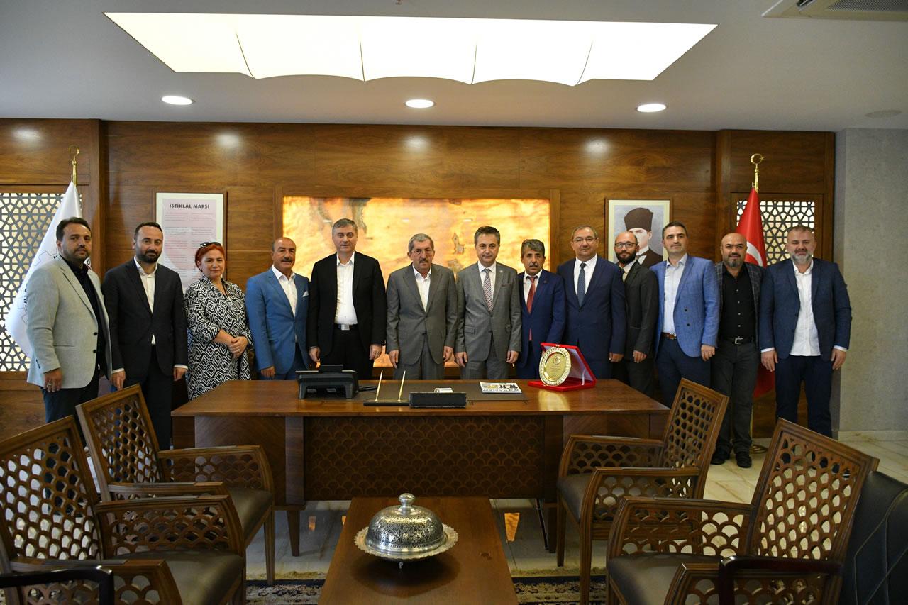 Kastamonu Sanayici ve İşadamları Derneği´nden Başkan Vergili'ye Ziyaret