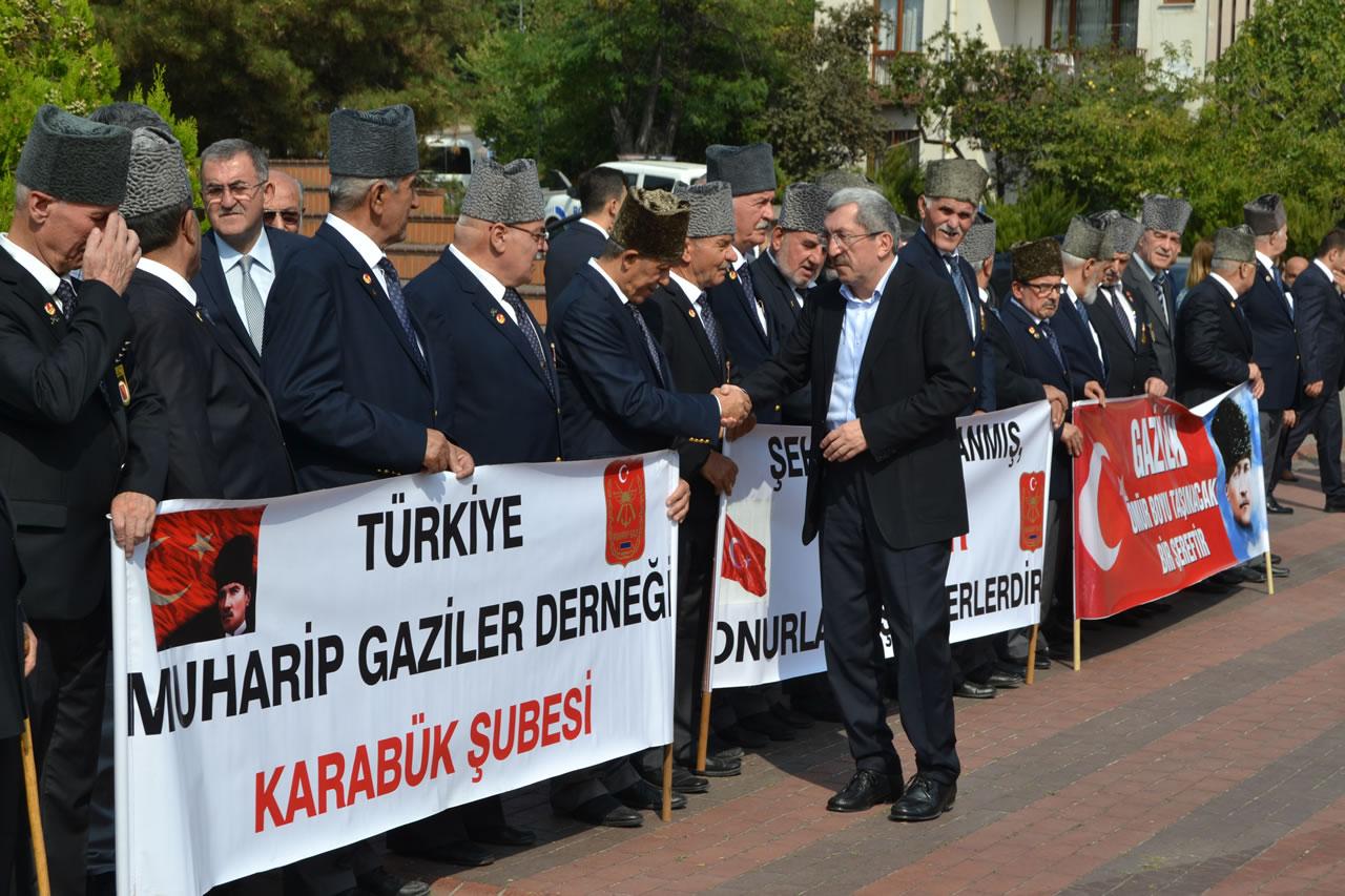 Karabük´te 19 Eylül Gaziler Günü Düzenlenen Etkinliklerle Kutlandı