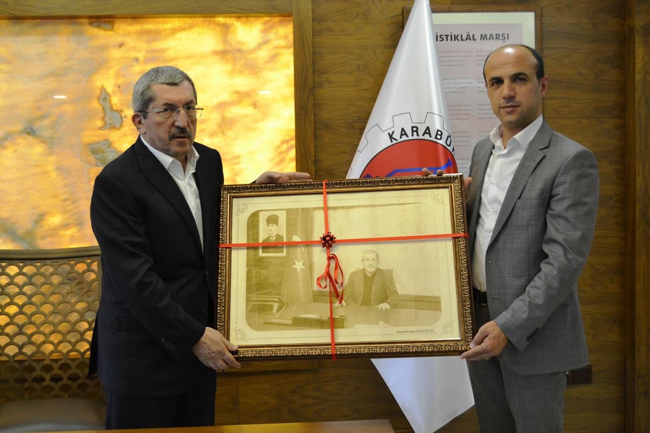 Eskipazar Belediye Başkanı Yarkan'dan Başkan Vergili´ye Ziyaret