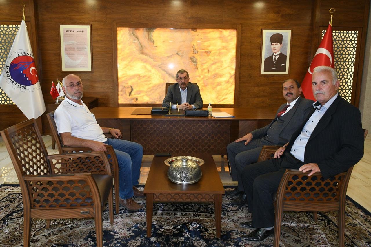 Atkaracalar Belediye Başkanı Oflaz´dan Başkan Vergili´ye Ziyaret