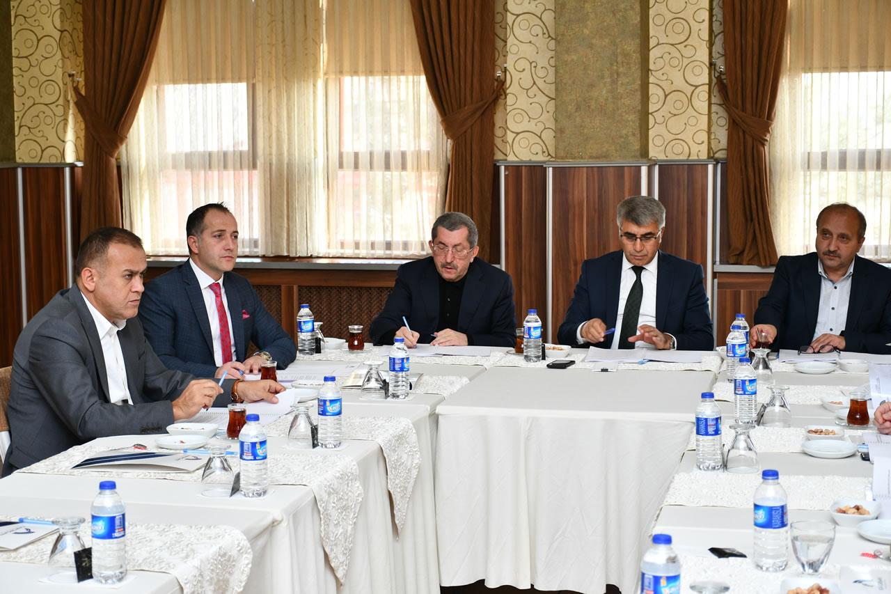 Karabük OSB'de Müteşebbis Heyet Kurulu Toplantısı Gerçekleştirildi