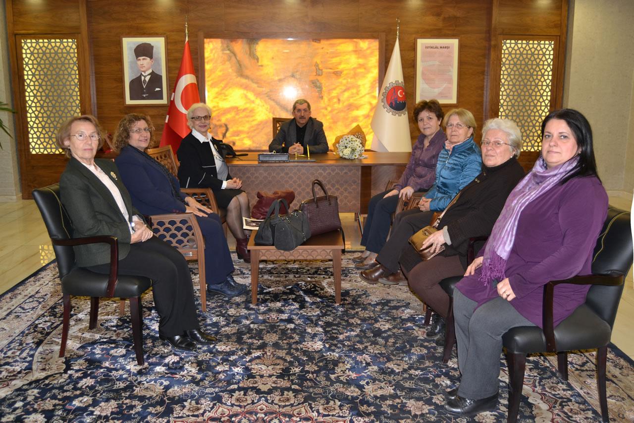 TYSD Karabük Şubesinden Başkan Vergili´ye Ziyaret