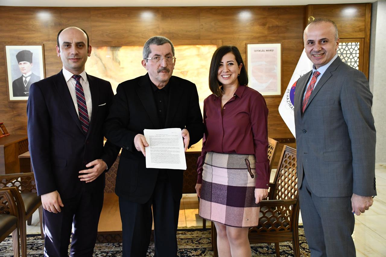Karabük Belediyesi ve Garanti Bankası Arasında Maaş Sözleşmesi İmzalandı