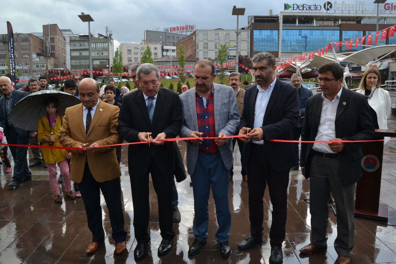 Esnaf Günleri 2. Etap Çadır Açılışı Gerçekleştirildi