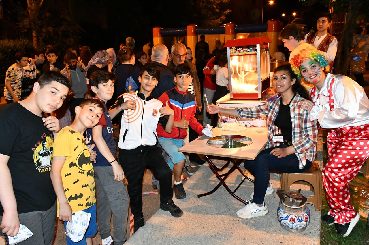 Ramazan Eğlenceleri Kartaltepe Mahallesi ile Devam Etti