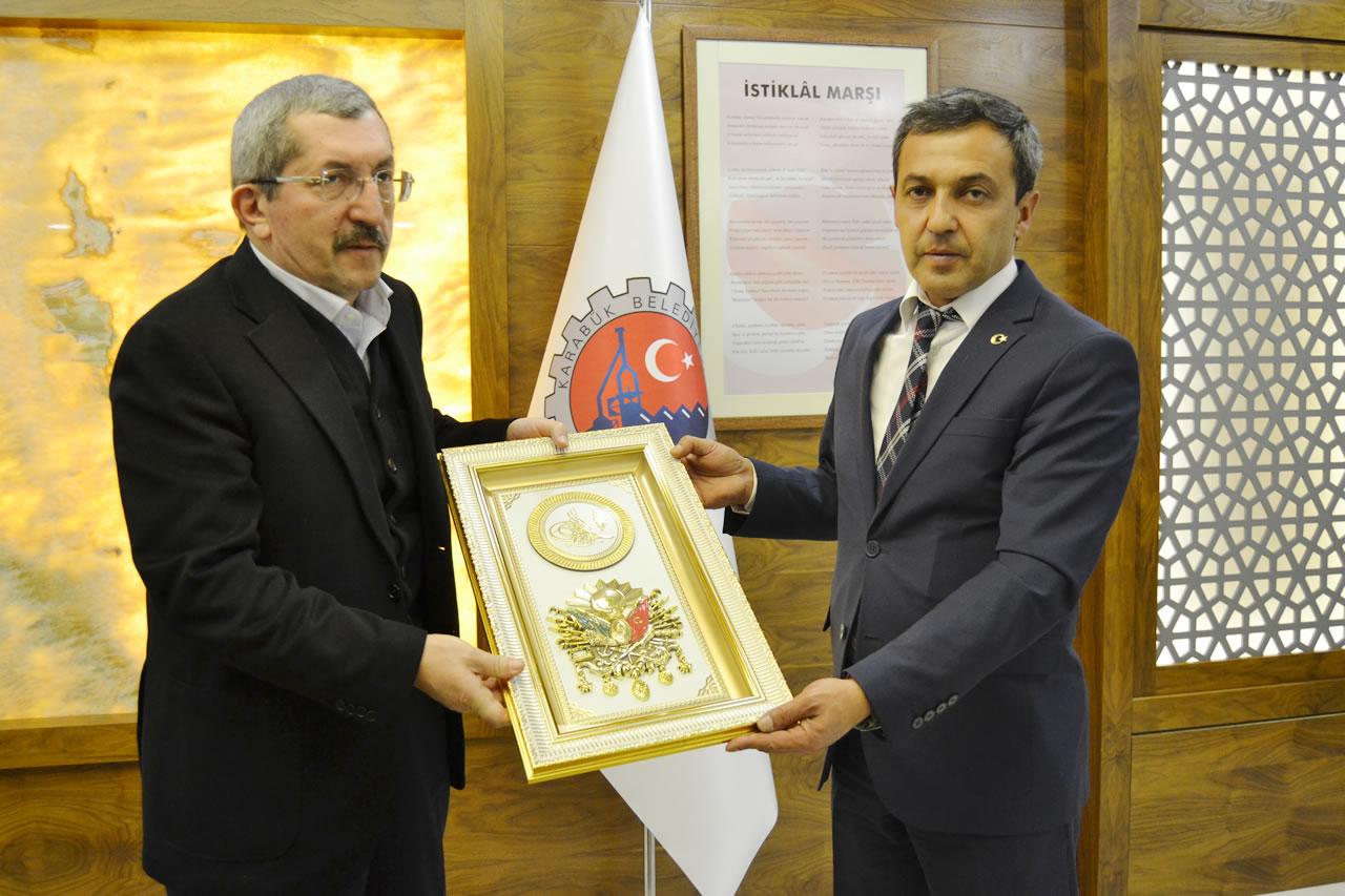 MHP´li Bilecik Yenipazar Belediye Başkanı İlhan Özden´den Başkan Vergili´ye Ziyaret