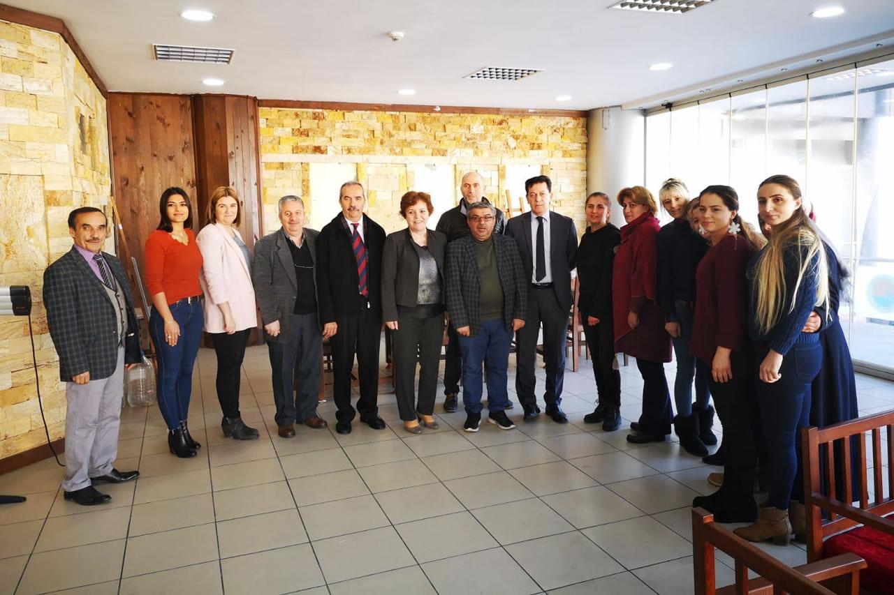 Başkan Yardımcısı Berker'den Aşçılık Kursiyerlerine Ziyaret