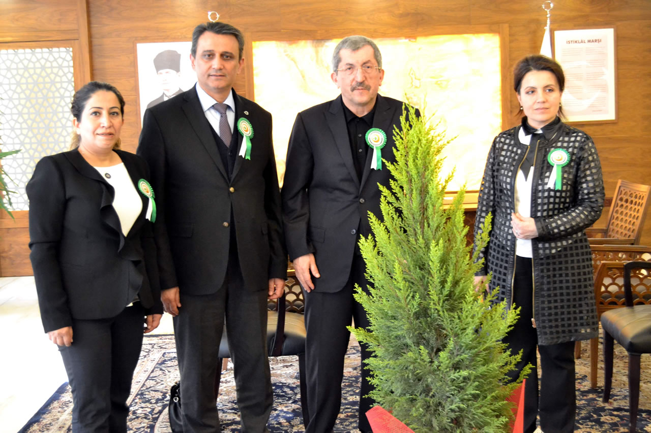 Karabük Orman İşletme Müdürlüğünden Başkan Vergili'ye Ziyaret