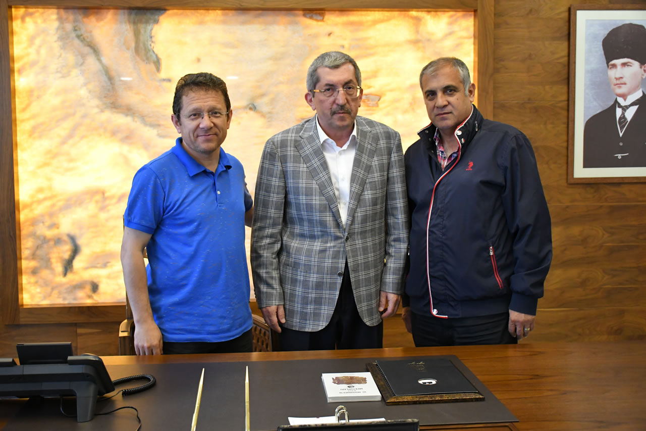 Karabük Amatör Spor Kulüpleri Federasyonu´ndan Başkan Vergili'ye Ziyaret