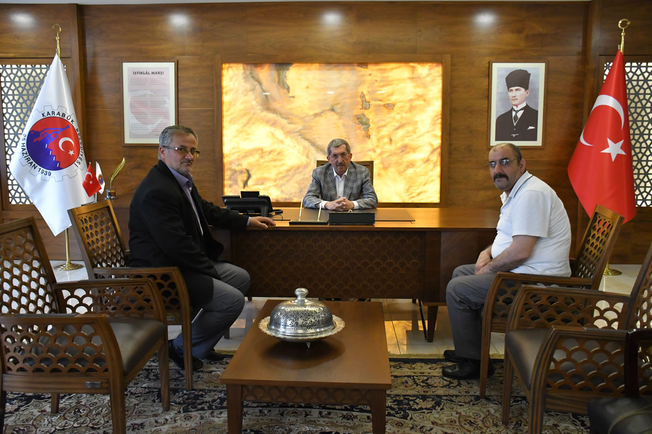 Beytullah Cami Derneğinden Başkan Vergili'ye Ziyaret