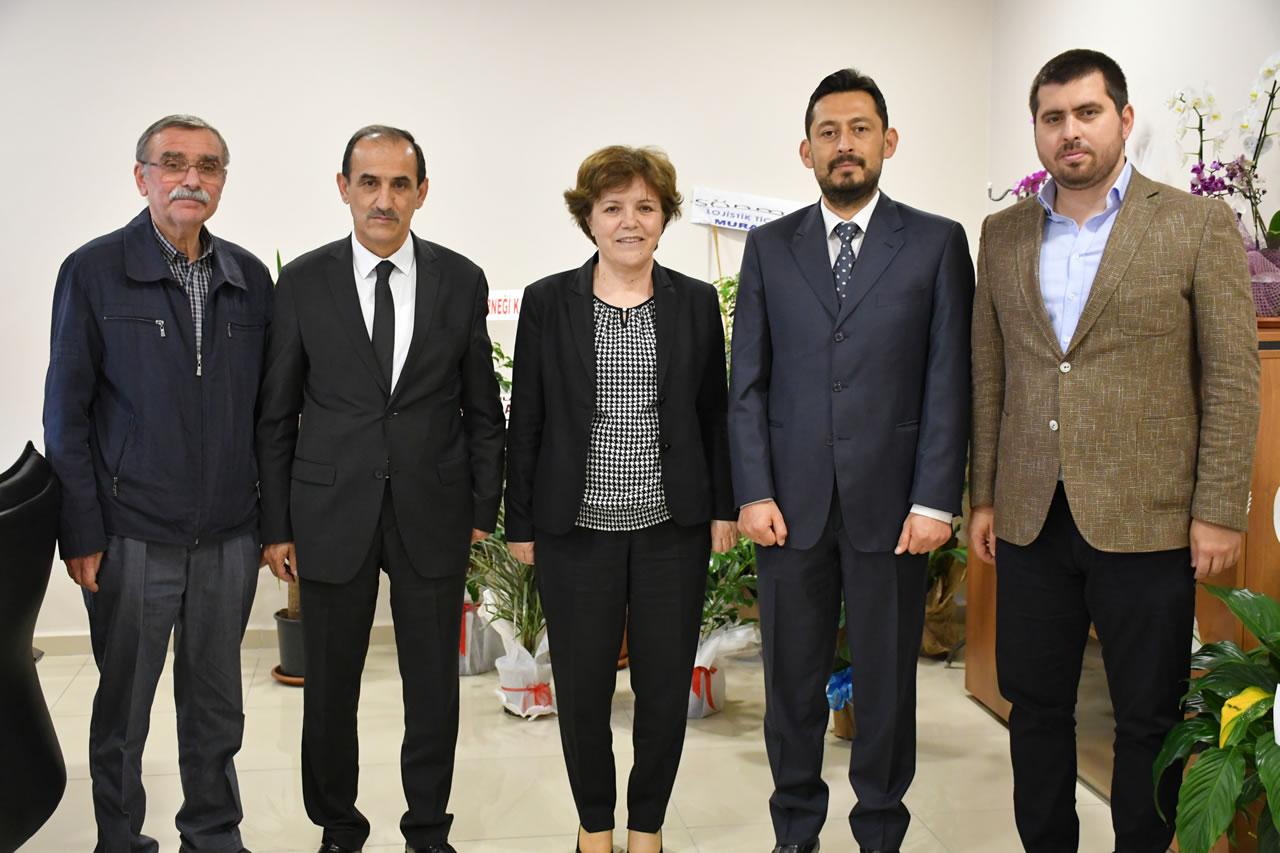 MHP Safranbolu İlçe Başkanı Tokatlı ve Belediye Meclis Üyelerinden Karabük Belediye Başkan Yardımcısı Berker'e Hayırlı Olsun Ziyareti