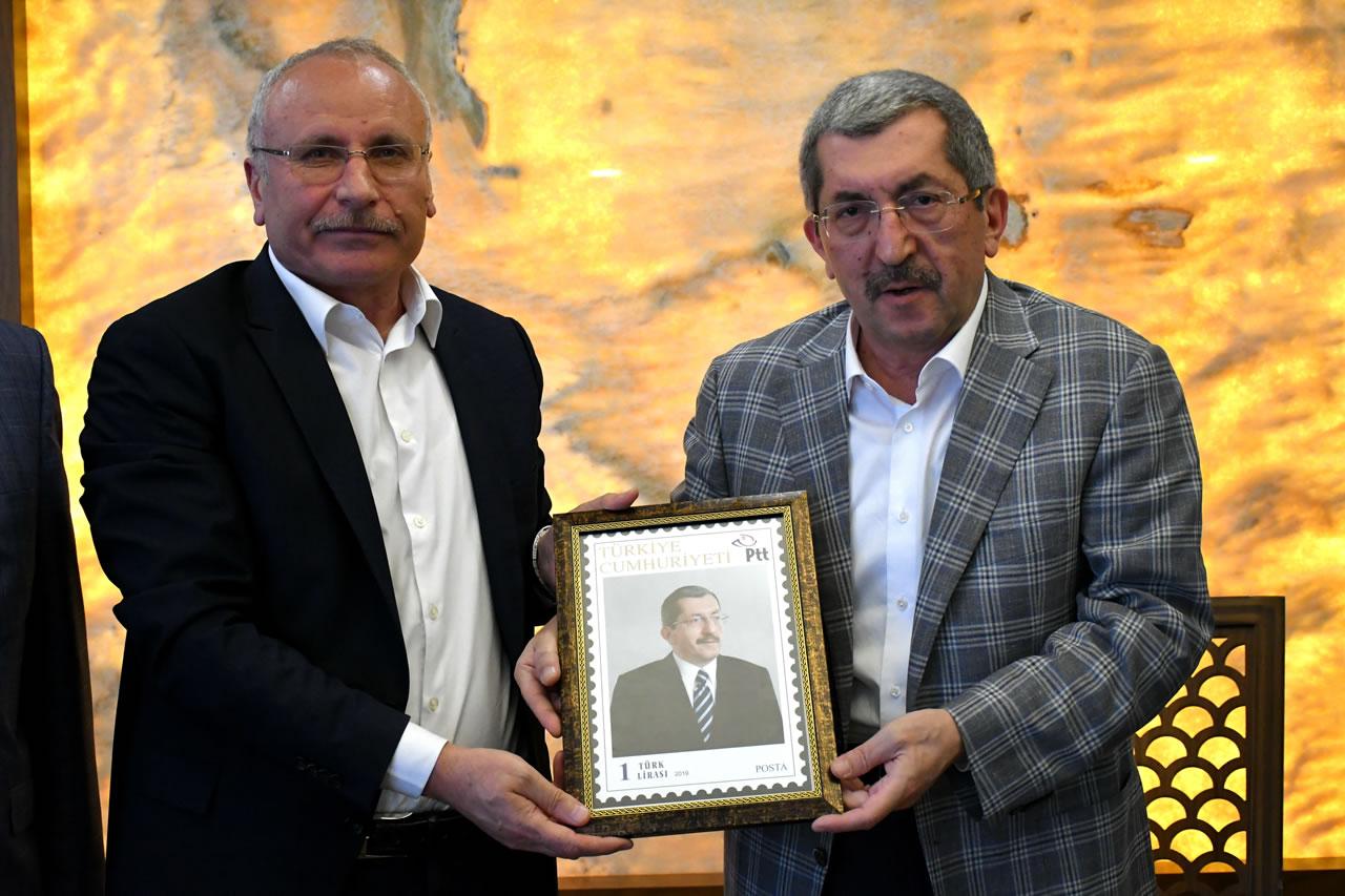 PTT Karabük Şubesinden Başkan Vergili'ye Ziyaret