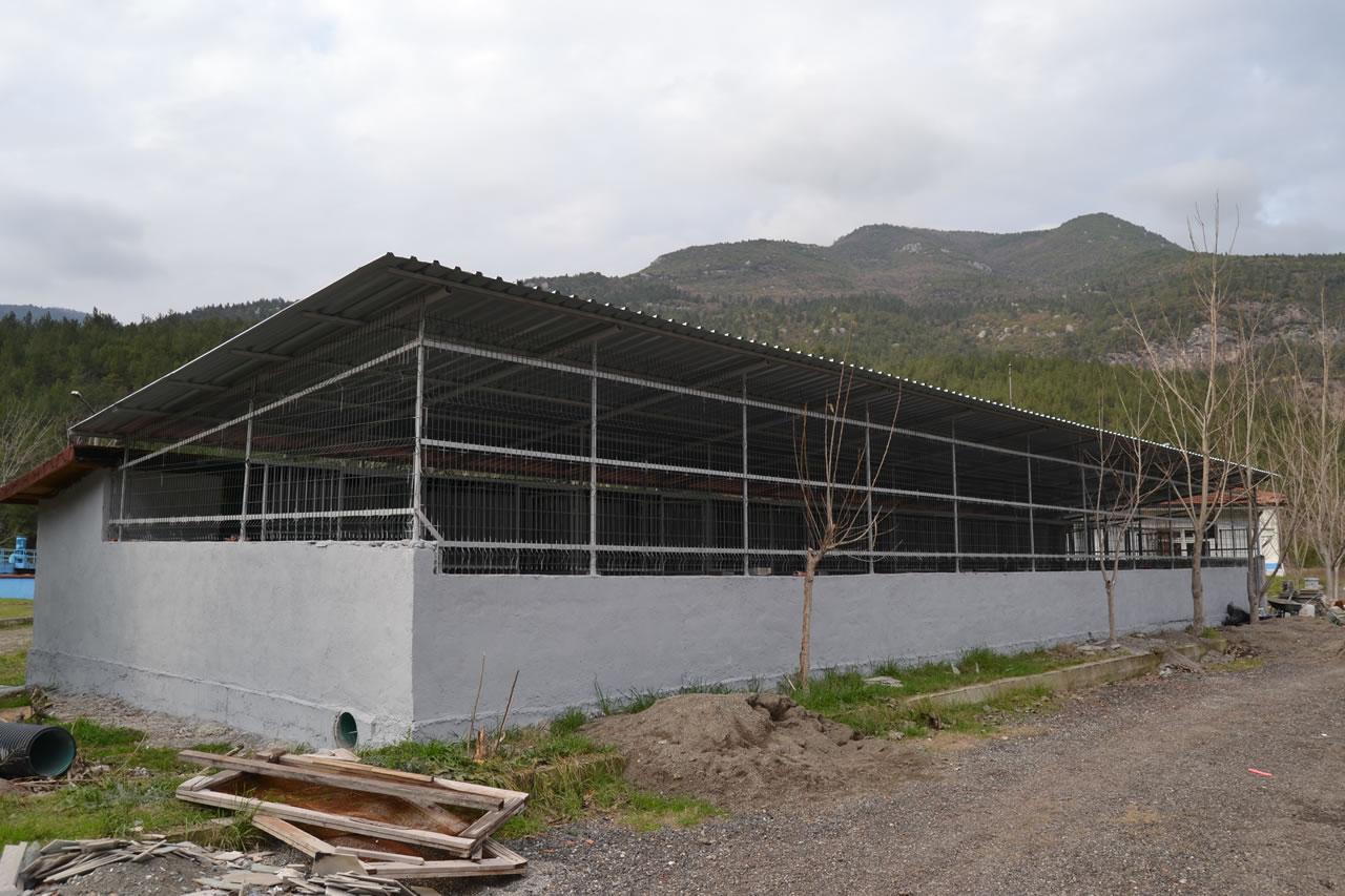 Karabük Belediyesi Hayvan Bakım Evi ve Rehabilitasyon Merkezi Ek Bina İnşaatında Sona Gelindi