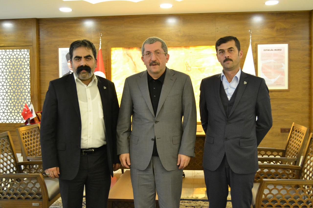 Sırma Metal Mali İşler Müdürü Sekmen´den Başkan Vergili´ye Ziyaret
