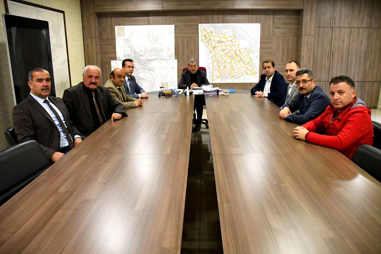 Karabük Kent Konseyinden Başkan Vergili'ye Hayırlı Olsun Ziyareti