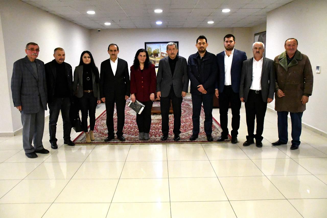 MHP Safranbolu İlçe Teşkilatından Başkan Vergili'ye Hayırlı Olsun Ziyareti