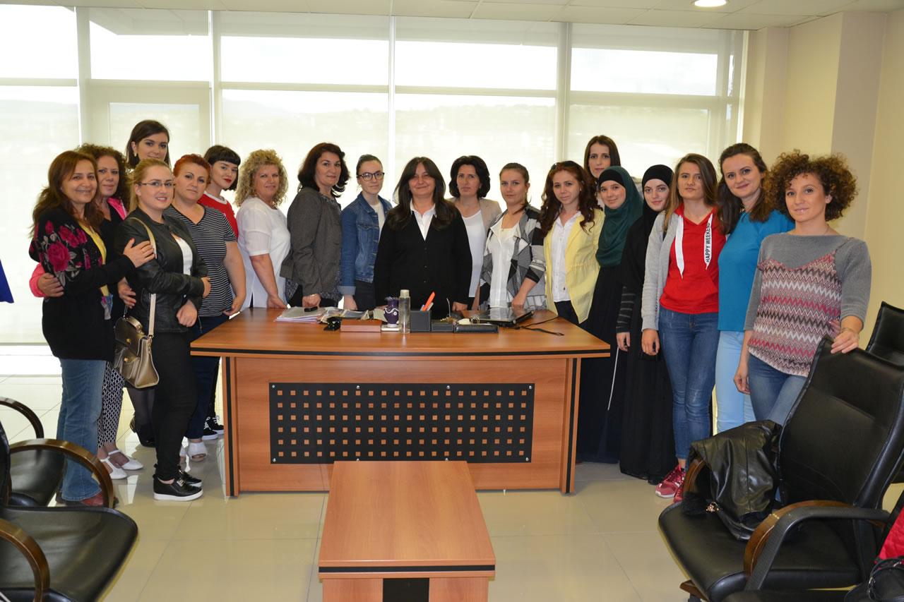 Kosovalı Kadınlardan Başkan Yardımcısı Danışman'a Ziyaret