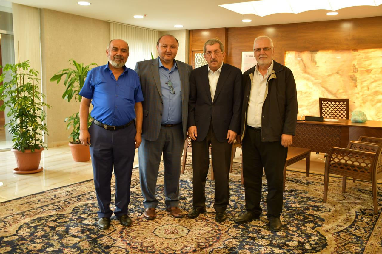 İkbal Turizm Karabük Şubesinden Başkan Vergili'ye Ziyaret