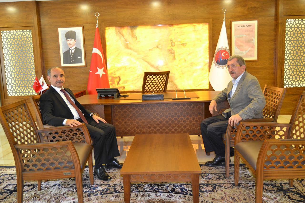 Vali Aktaş'tan Başkan Vergili'ye Veda Ziyareti