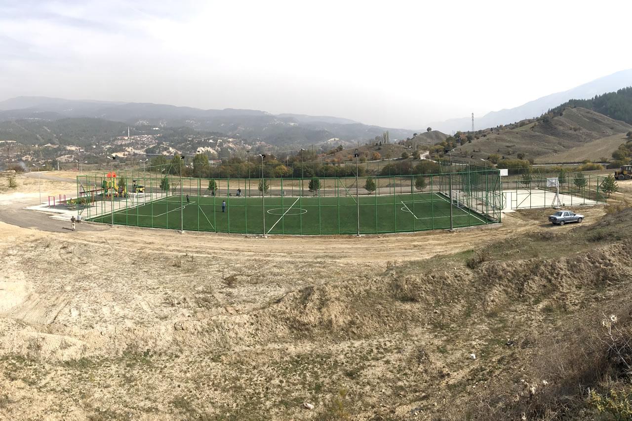 Zopran Köyü Bolulular Mahallesi Parkı Açılışa Hazır