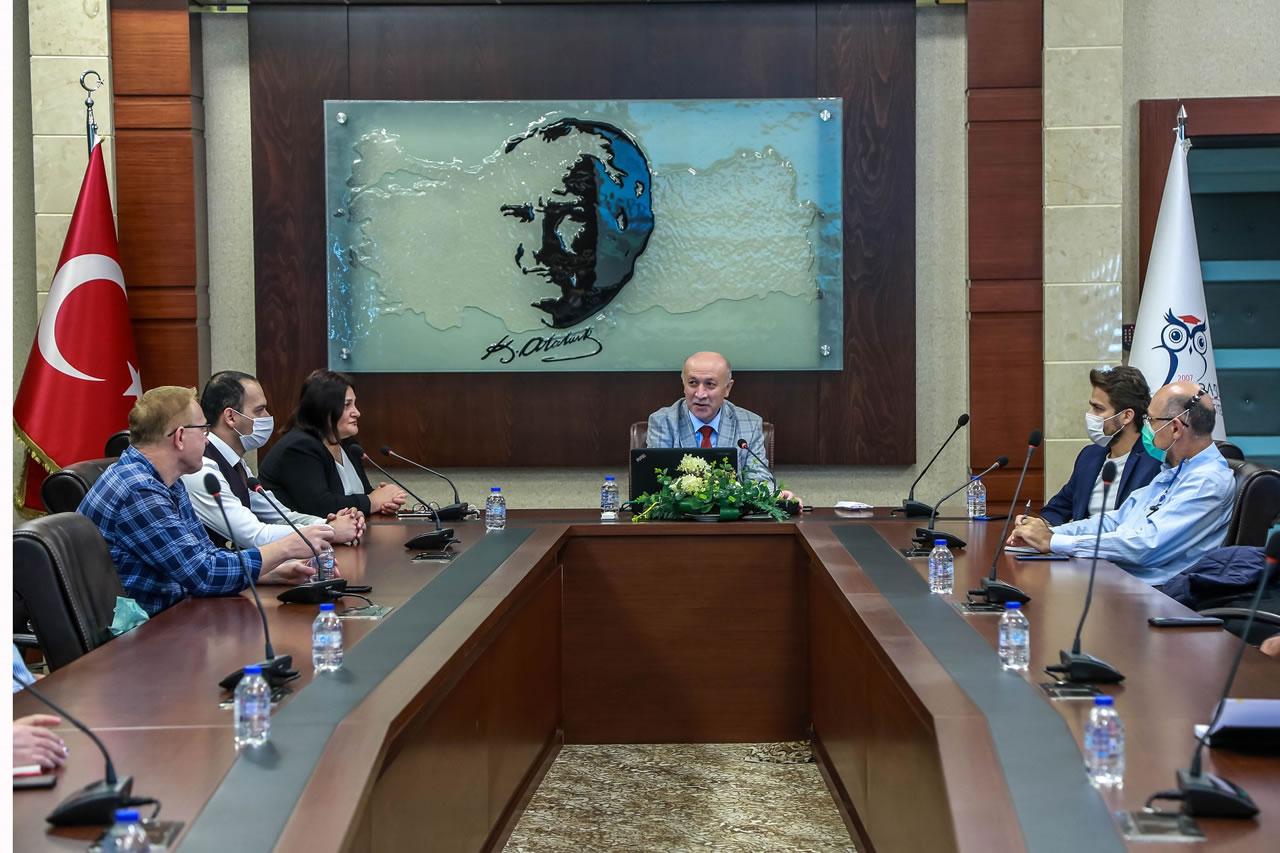 Piroliz Tesisi Proje Tanıtım Toplantısı KBÜ'de Yapıldı