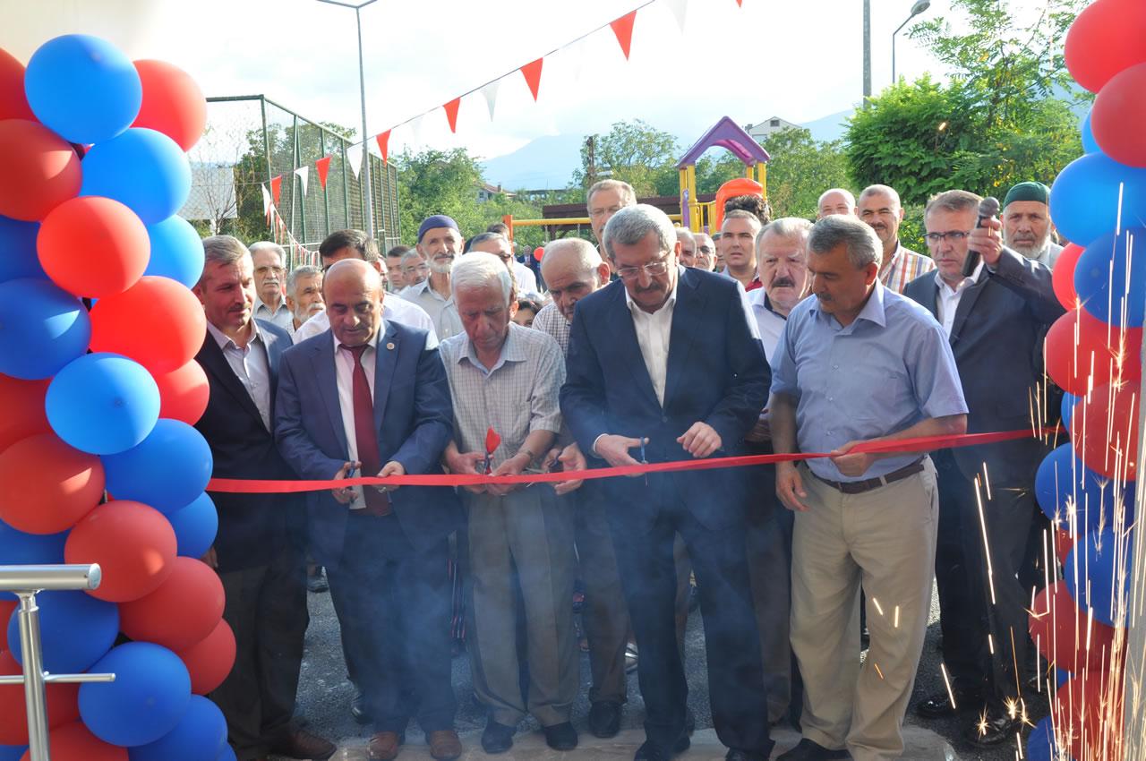 Kapullu Mahallesi Sosyal Yaşam Merkezi Hizmete Açıldı