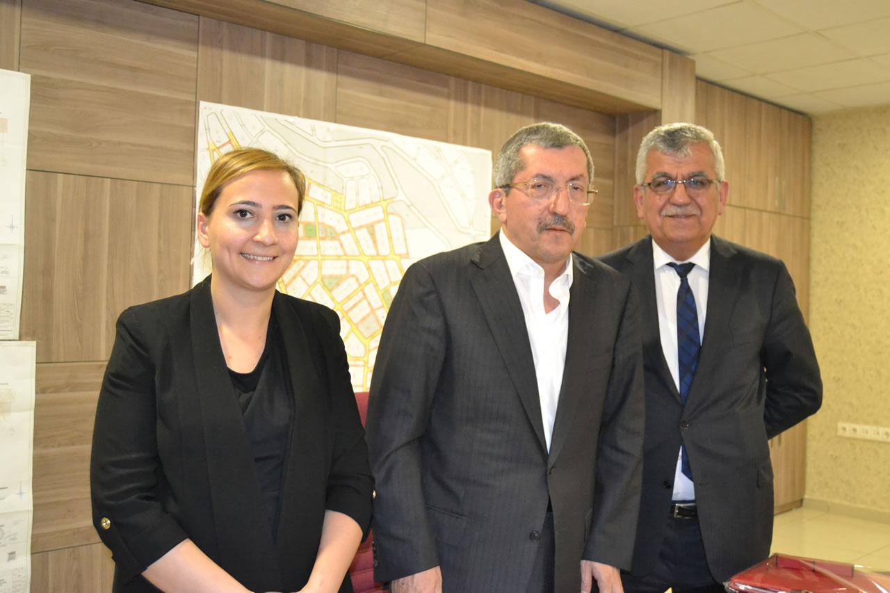 Bahçeşehir Kolleji Okul Yöneticilerinden Başkan Vergili'ye Ziyaret
