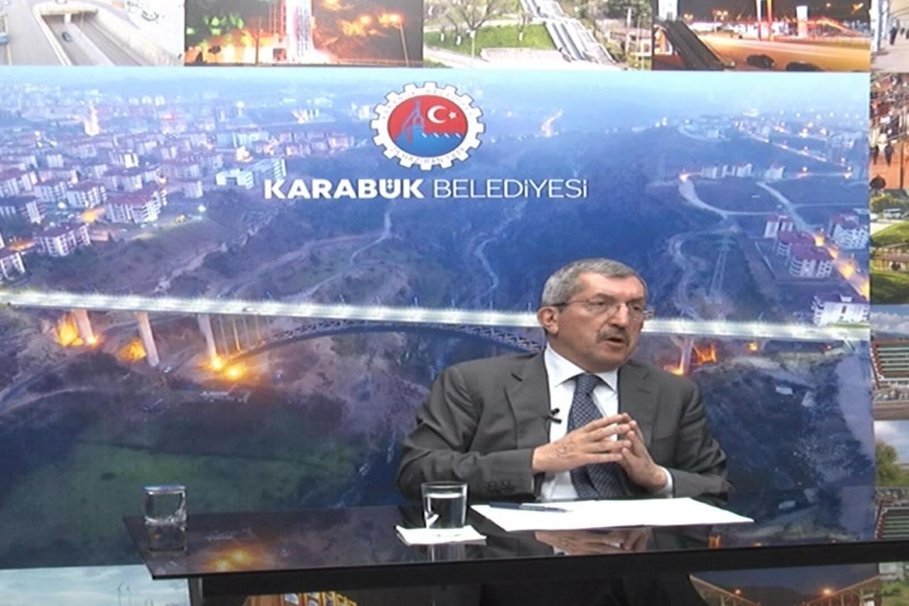 Başkan Vergili, BRTV Ekranlarında Yeni Dönem Projelerini Anlattı