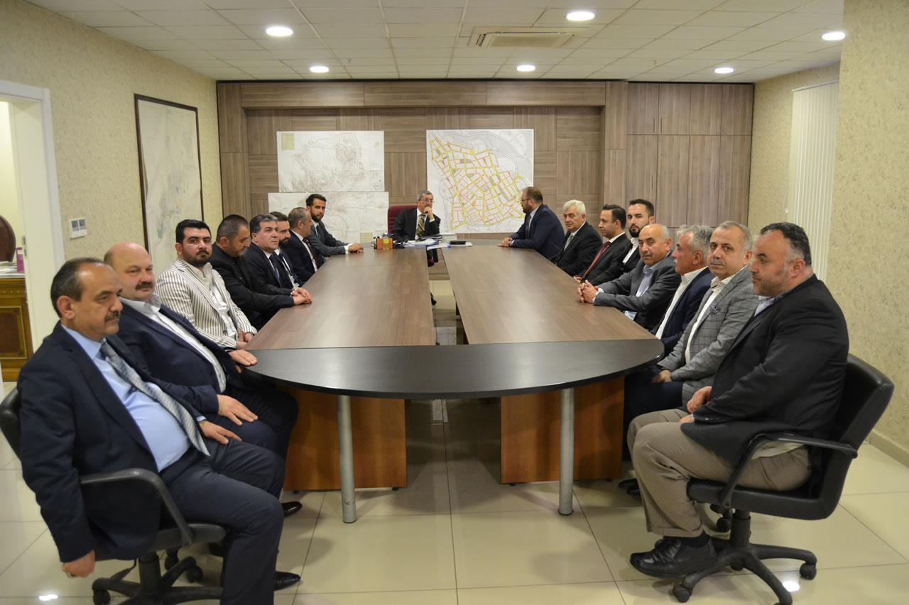 TSO  Yeni Yönetiminden Başkan Vergili'ye Ziyaret
