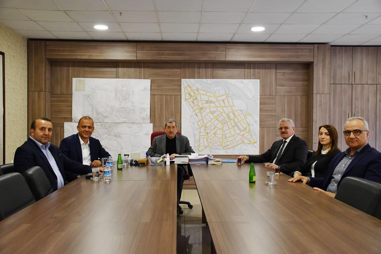 MÜSİAD Karabük Şubesinden Başkan Vergili'ye Hayırlı Olsun Ziyareti