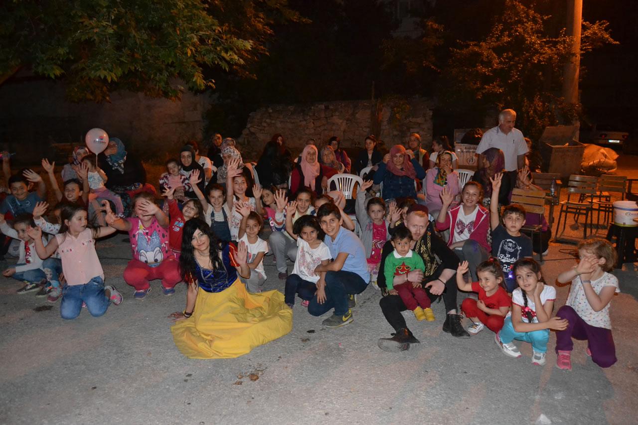 Ramazan Etkinliği Kılavuzlar Mahallesi ile Devam Etti