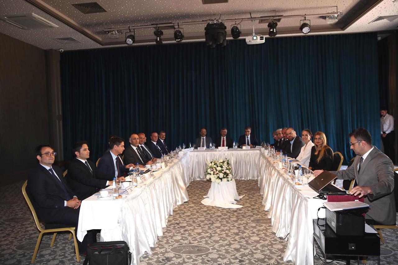 Başkan Vergili BAKKA 2019 Yılı Haziran Ayı Yönetim Kurulu Toplantısına katıldı