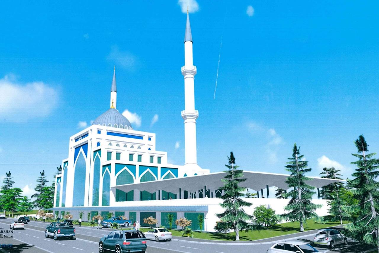 Merkez Camii İnşaatı Başlıyor