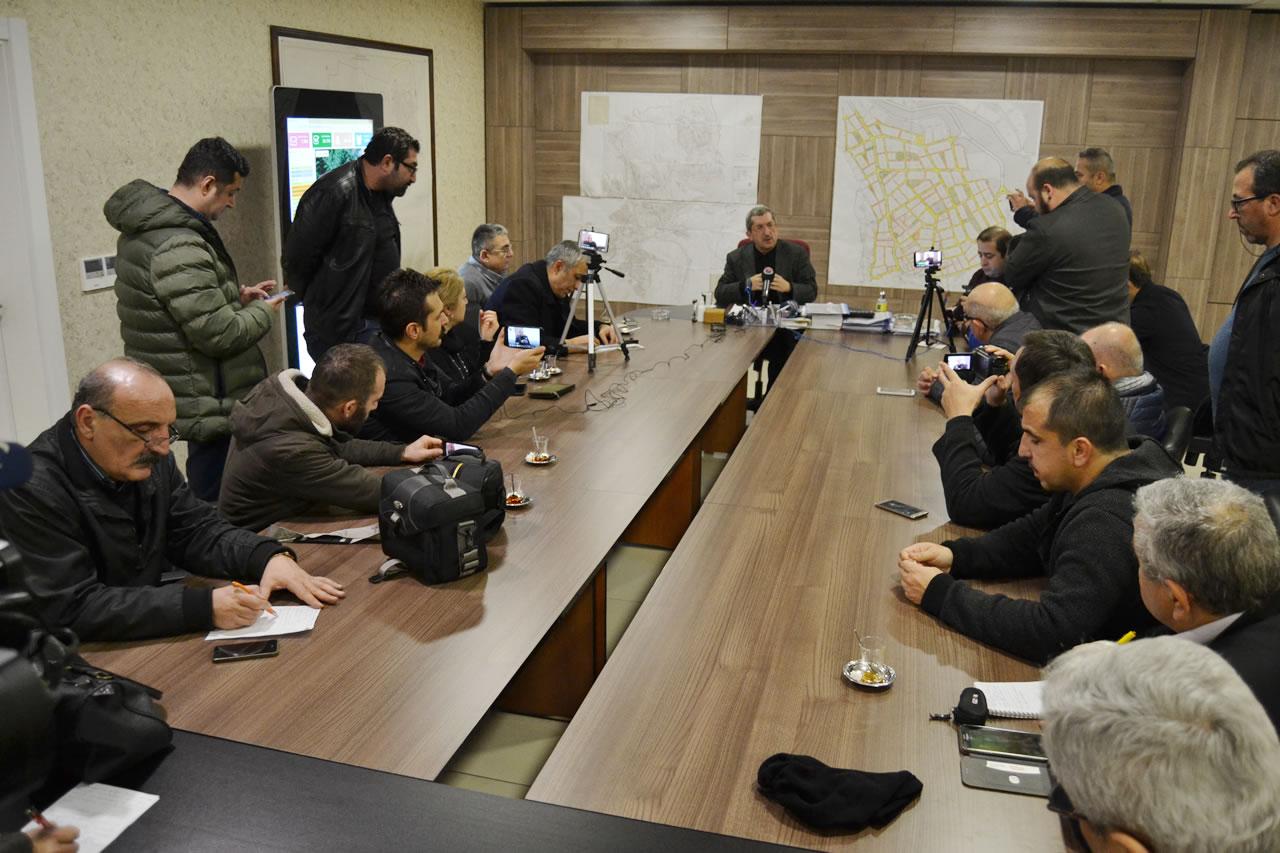 Başkan Vergili Basın Mensupları ile Bir Araya Geldi
