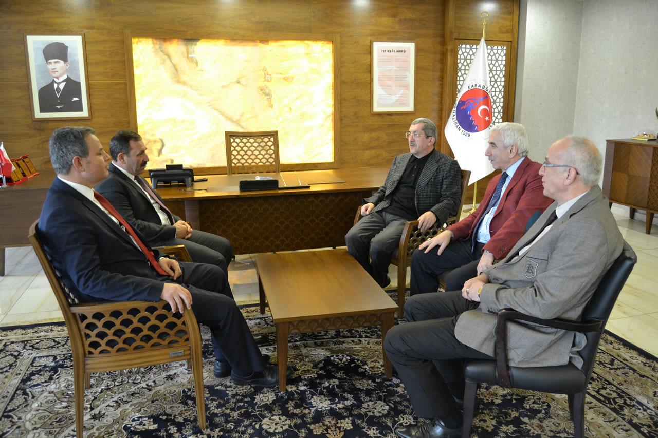 Etimesgut Belediye Başkanı Demirel'den Başkan Vergili'ye Ziyaret