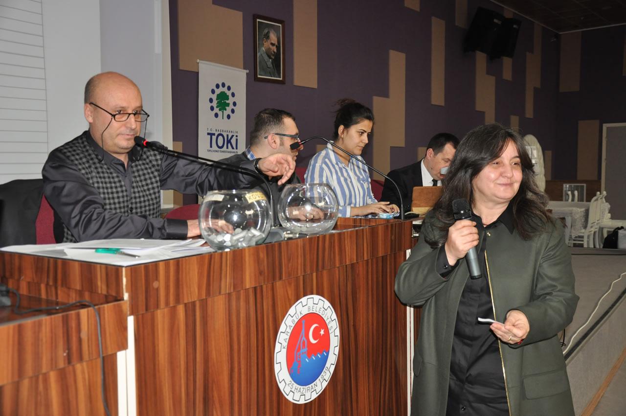Soğuksu 1. Etap Kentsel Dönüşüm ve Gelişim Projesi 154 Konut Kura Çekilişi Yapıldı