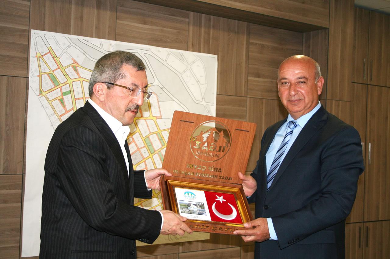 Ilgaz Belediye Başkanı Arif Çayır'dan Başkan Vergili´ye Ziyaret