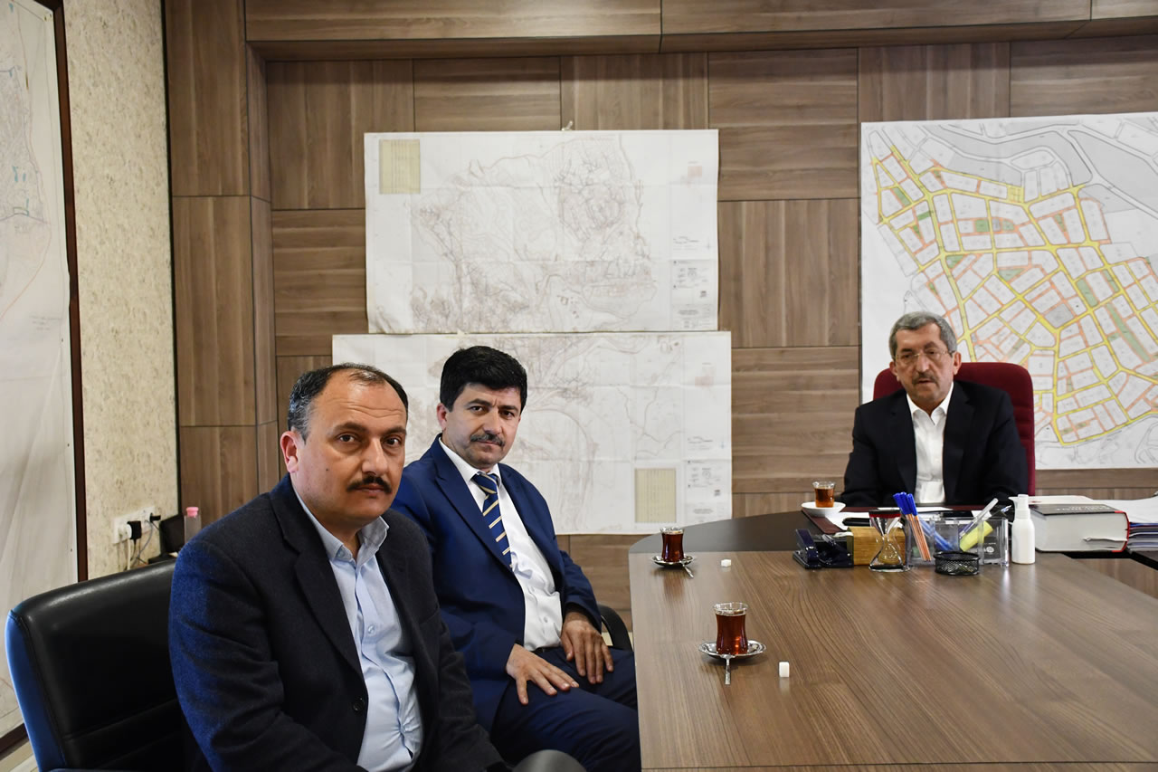 İstanbul Dernekler Konfederasyon Dernek Başkan Vekilinden Başkan Vergili'ye Hayırlı Olsun Ziyareti