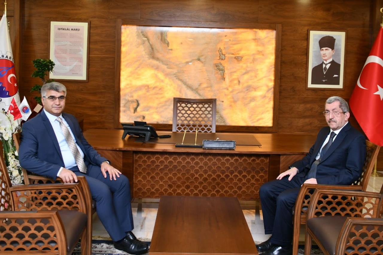 Karabük Valisi Sayın Fuat Gürel´den Başkan Vergili'ye Hayırlı Olsun Ziyareti