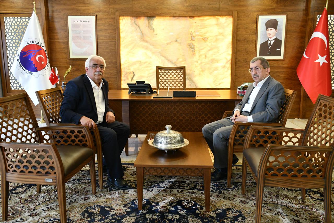 Kastamonu Ağlı Belediye Başkanı Çolak´tan Başkan Vergili'ye Ziyaret