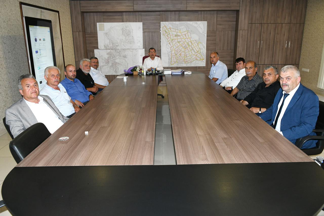 Safranbolu Köy ve Mahalle Muhtarlarından Başkan Vergili'ye Ziyaret