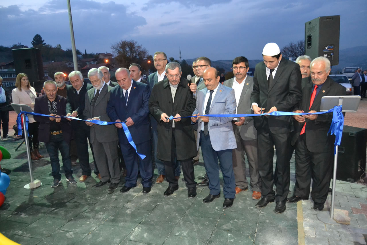 Zopran Köyü Bolulular Mahallesi Park Açılışı Yapıldı